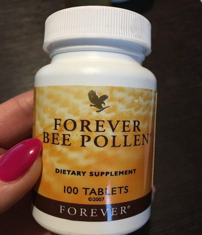 forever living jedz trenuj kochaj pyłek pszczeli